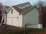 Bowie home roof trim job